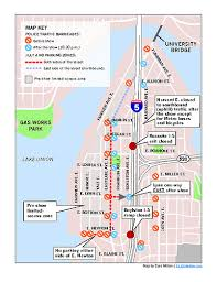 seattle map eastlake eastlake fourth of july plans traffic map events around the lake