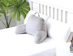 big bed pillows bed pillows for sitting up that lets you sit up in bed dorm pillows