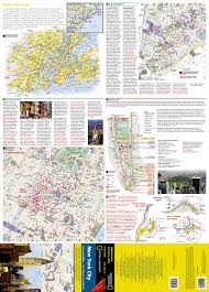 Downtown Manhattan Map New York City National Geographic Destination City Map National