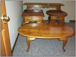 queen anne end tables vintage broyhill oak queen anne oval coffee table coffee table