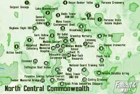 Fallout 3 Full Map Maps Fallout 4 Wiki