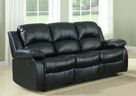 Black Leather Reclining Sectional Sofa Leather Sofa Omega Black Bonded Leather Recliner Sofa Archer
