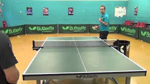 how to play table tennis returning serve