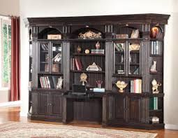 Desk Bookcase Wall Unit Built In Bookshelves With Desk Idi Design With Regard To Desk
