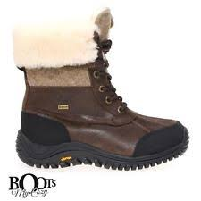 s waterproof boots size 9 ugg australia s lace up us size 9 ebay