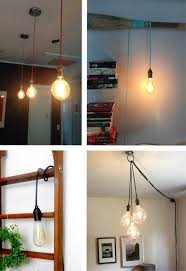 custom pendant light hanging light vintage edison light