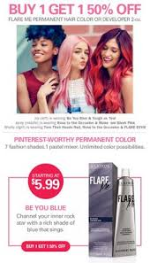 clairol professional flare hair color chart express yourself with a bright new shade from clairol professional
