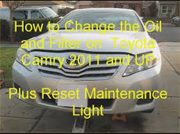 2011 toyota camry change interval how to change and filter on toyota camry 2011 and up plus