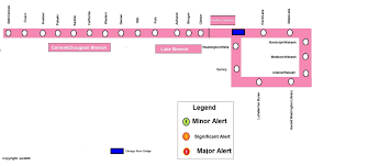 Cta Map Red Line Rail Service Alerts Discussion Thread Page 2 Cta Rail
