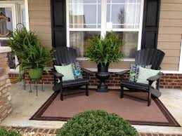 decorate front porch front porch decorated with adirondack chairs and potted plants