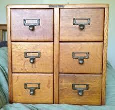 index card file cabinet 6 drawer oak wood library index card file cabinet dove tail box antique