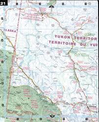 Map Of Yukon Southern Yukon