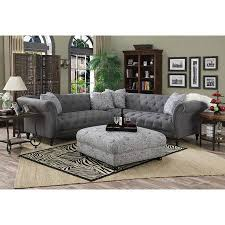 tufted gray sofa outstanding sofa charming tufted sectional grey couches gray