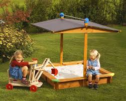 Sandboxes With Canopy And Cover by Tierra Garden 4 67 Square Sandbox With Cover U0026 Reviews Wayfair