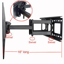 amazon com videosecu tilt swivel tv wall mount 32