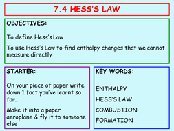 7 4 hess u0027s law by gavinterry24 teaching resources tes
