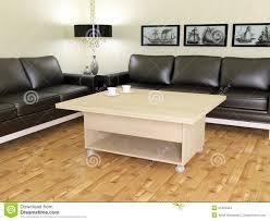 Wohnzimmer Einrichten Mit Schwarzem Sofa Modernes Wohnzimmer Mit Zwei Schwarzen Sofas Stockbilder Bild