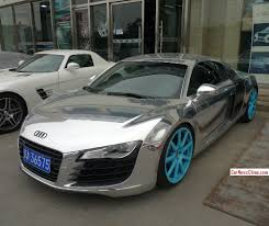 Bling Audi R8 Is Shiny Silver In China Carnewschina Com China