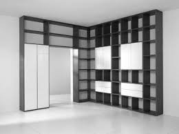 White Library Bookcase by Home Library Shelving
