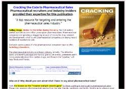 Pharmaceutical Sales Resume Examples by Cracking The Code To Pharmaceutical Sales Best Selling Ebook