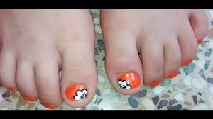 cute toe nail art tutorial for little no tools easy nail