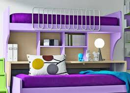 Purple Bunk Beds Awesome Loft Beds With Desk Bedroom Ideas Pictures Lili S Room
