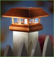 Solar Light For Fence Post - lighting solar lights for fence post cap solar post cap lights