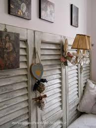 Shabby Chic Shutters by Home Shabby Home Arredare Vintage Idee Per Vecchie Persiane