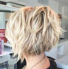 jagged layered bobs with curl 50 beautiful and convenient medium bob hairstyles blonde layers