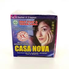 khasiat obat kuat tahan lama casa nova 5x lebih dahsyat dunia