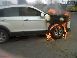 my horror story chevrolet captiva on fire team bhp