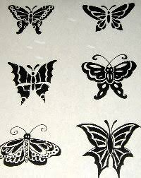 paper henna tattoo stencils henna body art