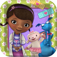 doc mcstuffins wrapping paper disney junior doc mcstuffins square dessert plates