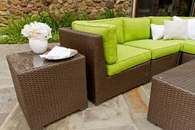 stunning wicker patio sofa residence decor plan outdoor wicker patio