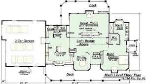 creative home plans model p 811 main floor plan from creative house plans