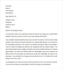 cover letter flight attendant flight attendant cover letter