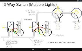 way switch wiring diagram lights awesome with pictures for