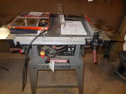 10 Craftsman Table Saw Craftsman Table Saw With 10