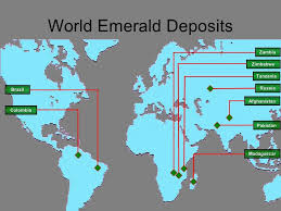 Production Map Gem Quality Mining Countries The Wonderful Of Color Pt 4 Emerald Royal Diadem Jewelers