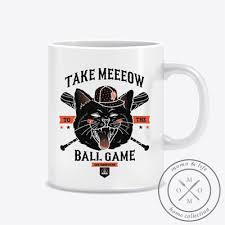 plaque m騁al cuisine ceramic mug coffee mug
