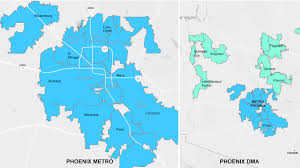 Map Of Phoenix Zip Codes by Phoenix Advertising Online Tv Cox Media Advertising