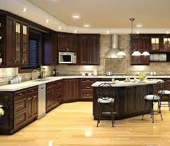 yellow kitchen with dark brown cabinets kitchen ideas medium brown