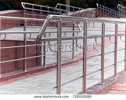 Wheelchair Ramp Handrails Slope Handrail Stock Images Royalty Free Images U0026 Vectors
