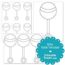 printable templates baby shower printable baby rattle template from printabletreats com baby