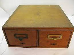 Antique Wood File Cabinet Oak File Cabinet Ebay