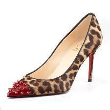 long heels red bottoms line dance geo 80mm leopard pumps