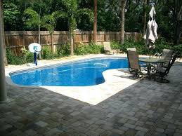 Pool Ideas For A Small Backyard Backyard Ideas With Pools Plunge Pools Damsel In Small Backyard