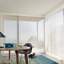 Room Darkening Vertical Blinds Decor Shop Style Selections 2 5 In Cordless White Vinyl Room