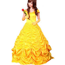 Beast Halloween Costumes Aliexpress Buy Princess Belle Costume Women Beauty
