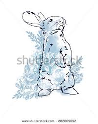 royalty free stock photos and images cute hare rabbit sketch